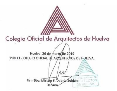 10 Colegio Oficial de Arquitectos de Huelva