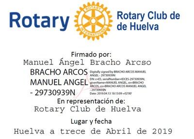 14 Rotary Club de Huelva (13.4.2019)