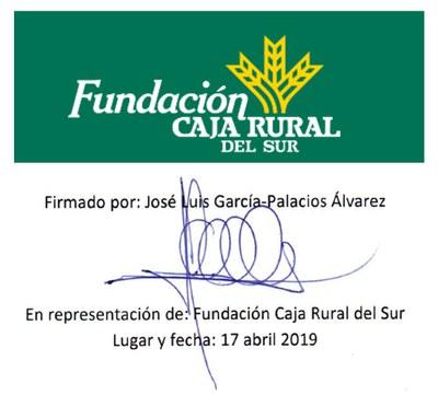 15 Fundación Caja Rural del Sur (17.4.2019)