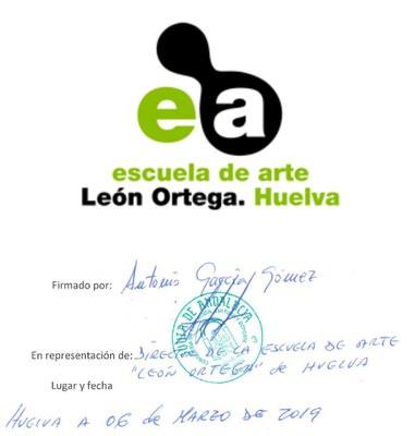6 Escuela de Arte León Ortega Huelva