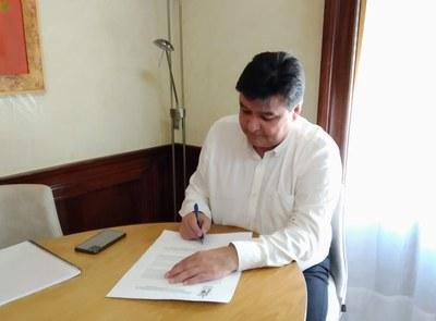 25 Gabriel Cruz Santana Alcalde de Huelva (9.3.2020)