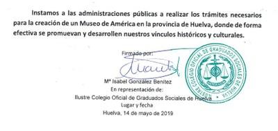 19 Ilustre Oficial de Colegio de Graduados Sociales de Huelva (14 de mayo de 2019)