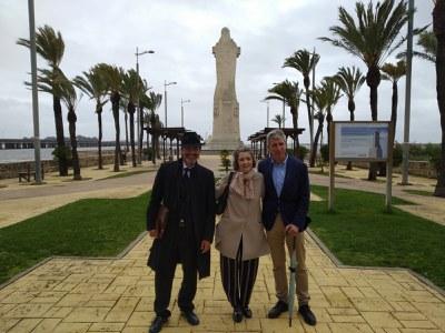 Fiona Donovan, Diego Vázquez y Juan Antonio Márquez