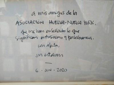 José Manuel Esteban Subasta solidaria 2